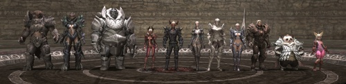 The seven races of TERA.
